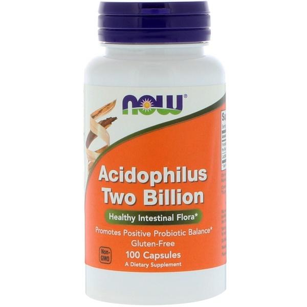 Ацидофилин 2 млрд, 100 Капсул
