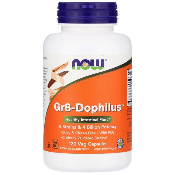 Gr8-Dophilus, 120 растительных капсул