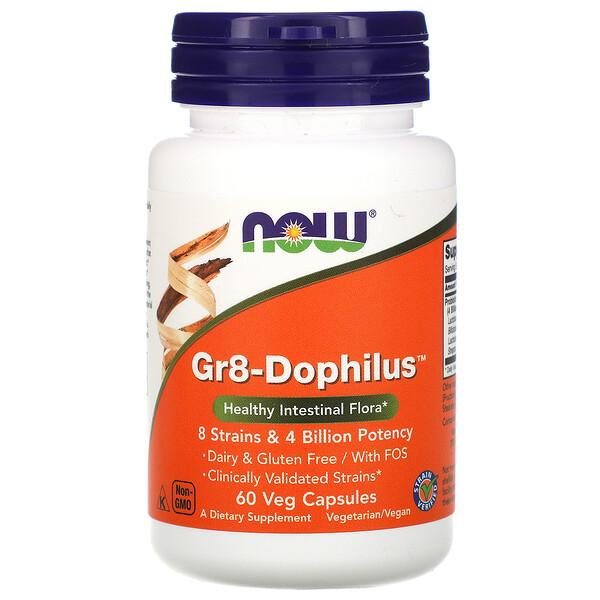 Gr8-Dophilus, 60 растительных капсул