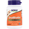 Now Foods, OralBiotic, 60 пастилок