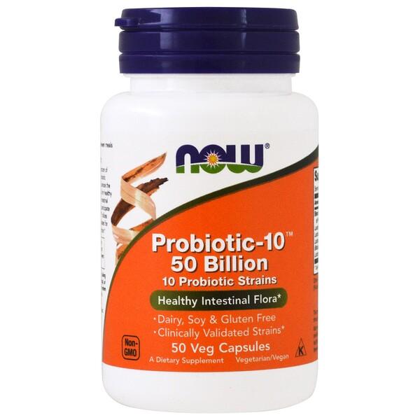 Probiotic-10, 50млрд, 50растительных капсул