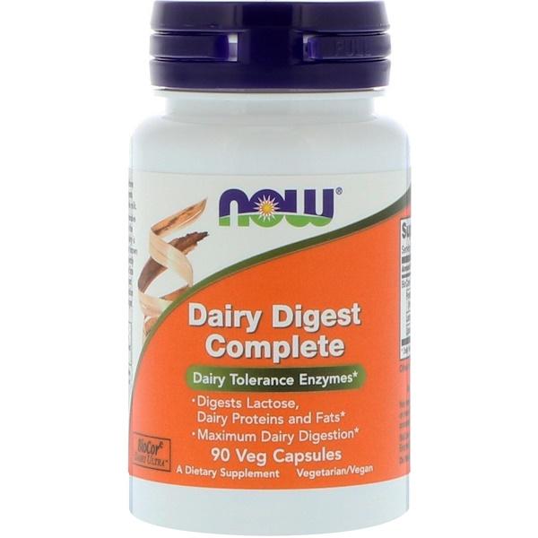 Dairy Digest Complete, 90 растительных капсул