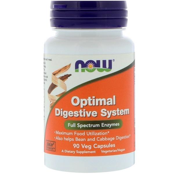 Optimal Digestive System, 90 растительных капсул