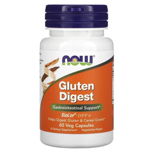 Gluten Digest, 60 растительных капсул