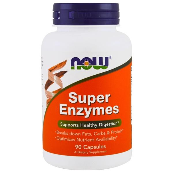 Супер Энзимы (Super Enzymes), 90 капсул
