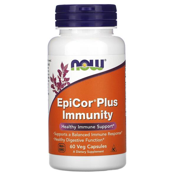 EpiCor Plus Immunity, 60растительных капсул