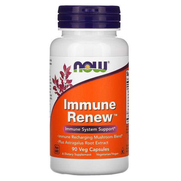 Now Foods, Immune Renew, 90растительных капсул