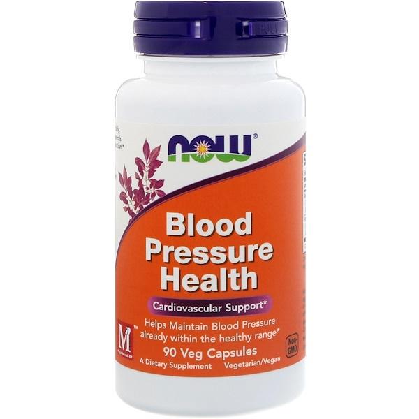 Здоровое артериальное давление, 90 растительных капсул