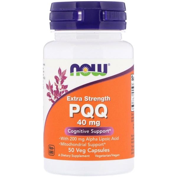Препарат PQQ, Extra Strength, 40 мг, 50 растительных капсул