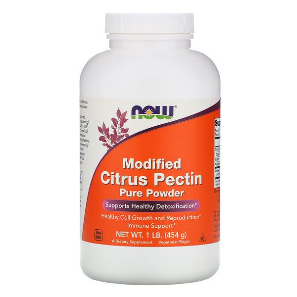 Модифицированный цитрусовый пектин, чистый порошок, 1 фунт (454 г)