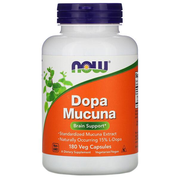 Now Foods, Dopa Mucuna, 180 Veg Capsules