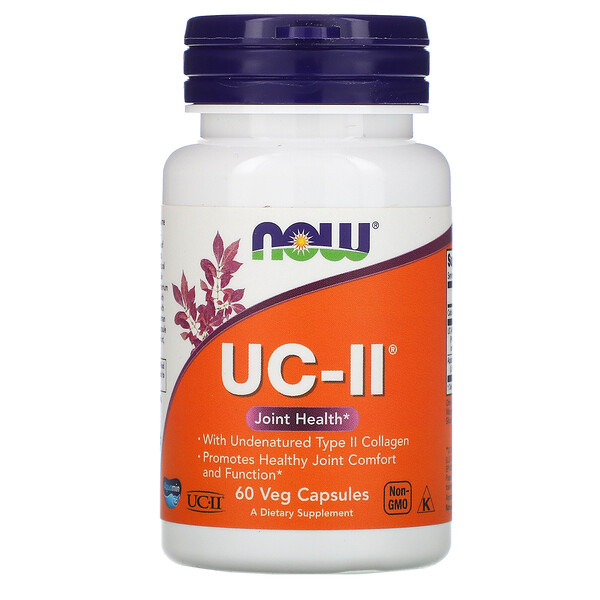 UC-II, 60 растительных капсул