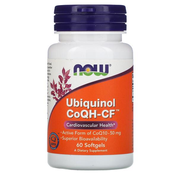 Убихинол CoQH-CF, 60 гелевых капсул