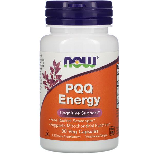 PQQ Energy, 30 вегетарианских капсул