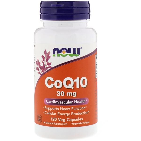 CoQ1, 30 мг, 120 вегетарианских капсул