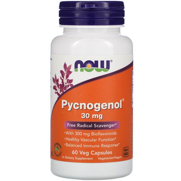 Pycnogenol, 30 мг, 60 растительных капсул