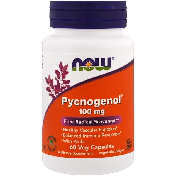 Pycnogenol, 100мг, 60вегетарианских капсул