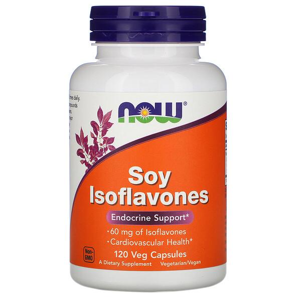 Изофлавоны сои, 120 растительных капсул