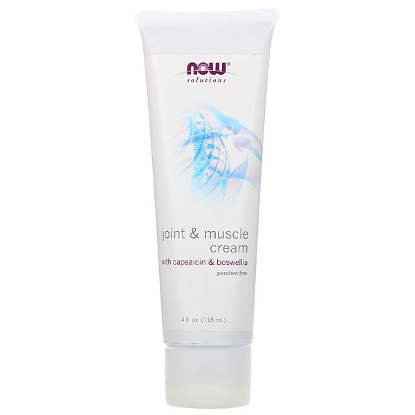 Solutions, Joint and Muscle Cream, 4 fl. oz (118 ml)