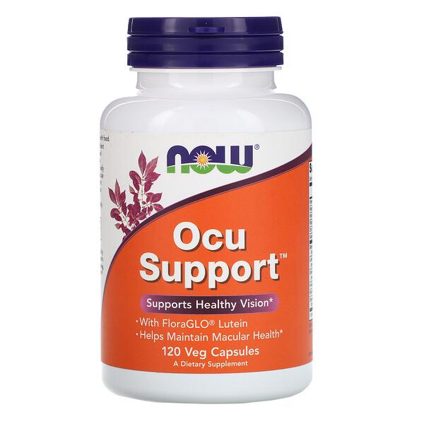 Ocu Support, 120 растительных капсул