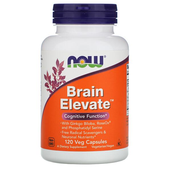 Brain Elevate, 120 растительных капсул