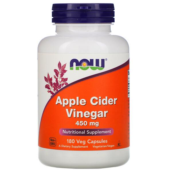 Apple Cider Vinegar, 450 мг, 180 капсул