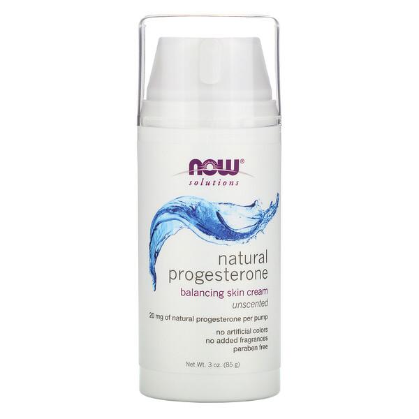 Натуральный прогестерон, липосомный крем для кожи, без запаха, 85 г