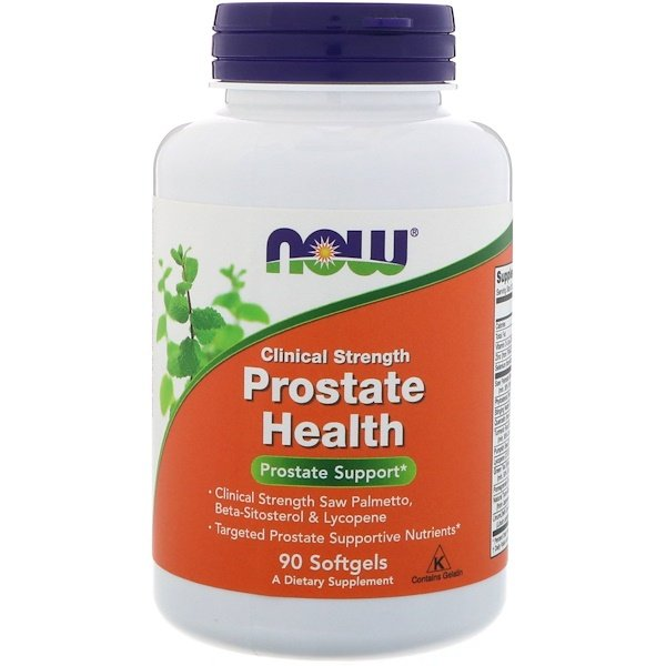 Now Foods, Clinical Strength Prostate Health, 90 капсул