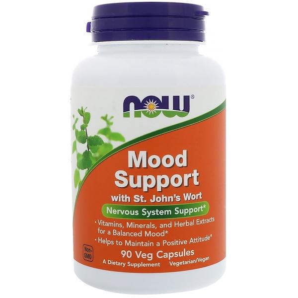 Mood Support со зверобоем, 90 растительных капсул