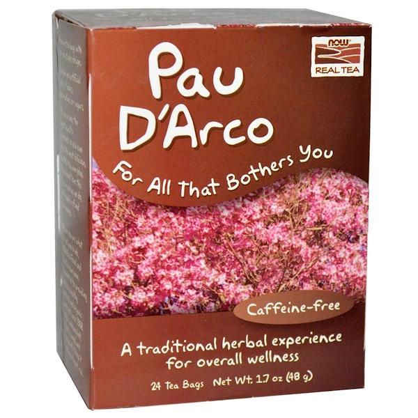 Настоящий чай из коры муравьиного дерева, без кофеина, 24 чайных пакетика, 48 г (1,7 унции)