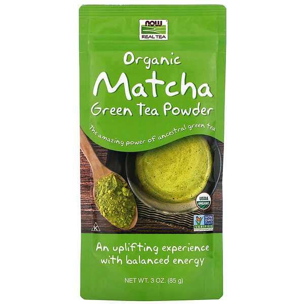 Real Tea, Organic Matcha Green Tea Powder, 3 oz (85 g)