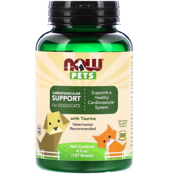 Pets, Cardiovascular Support for Dog & Cats, 4.5 oz (127 g)