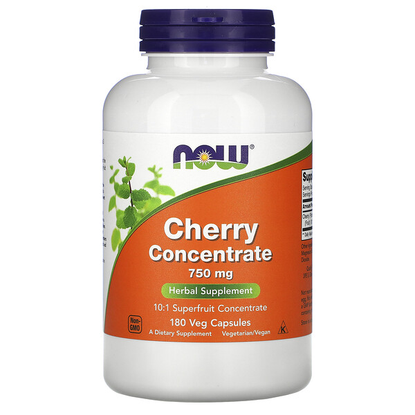 Cherry Concentrate, 750 mg, 180 Veg Capsules