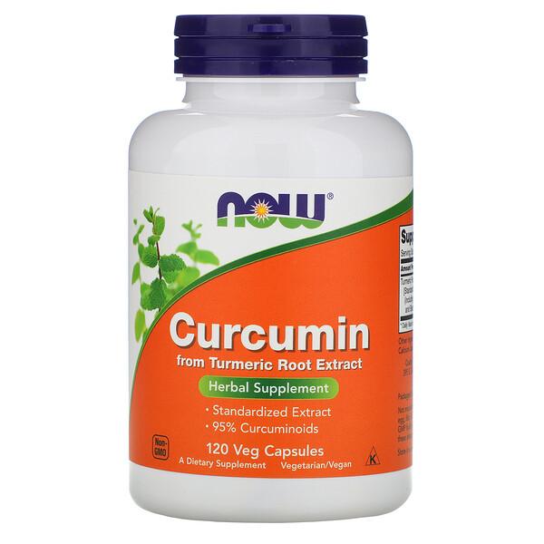 Куркумин, 120растительных капсул