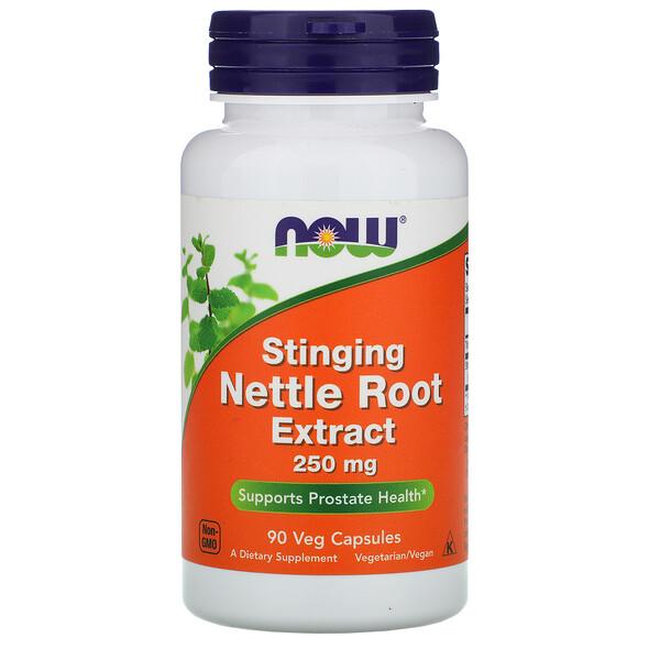Экстракт корня жгучей крапивы, 250 мг, 90 растительных капсул