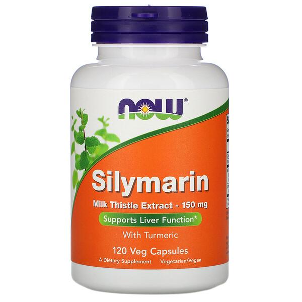 Силимарин, экстракт расторопши, 150мг, 120растительных капсул