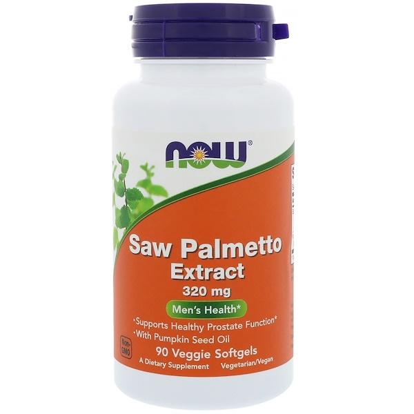 Экстракт пальмы сереноа, мужское здоровье, 320 мг, 90 растительных капсул