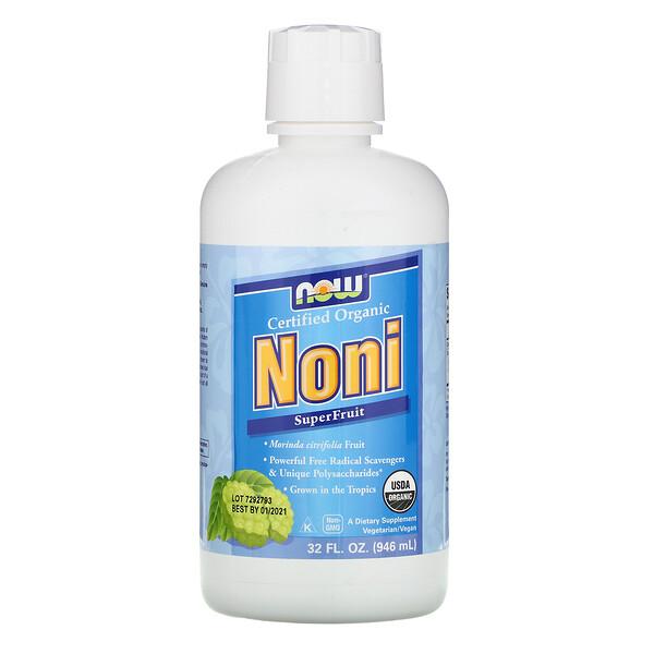 Certified Organic, Noni, SuperFruit, 32 fl oz (946 ml)