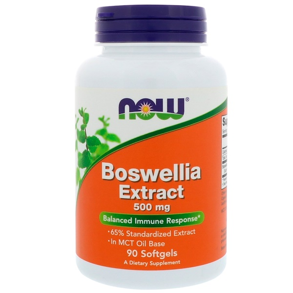 Экстракт босвеллии, 500 мг, 90 капсул