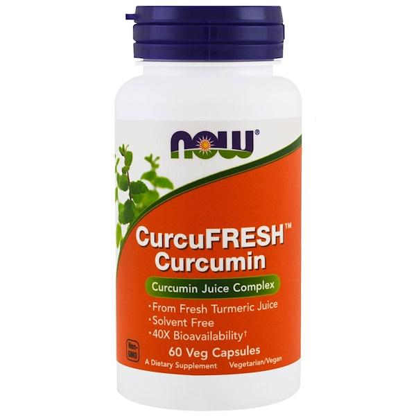 Куркумин CurcuFresh, 60растительных капсул