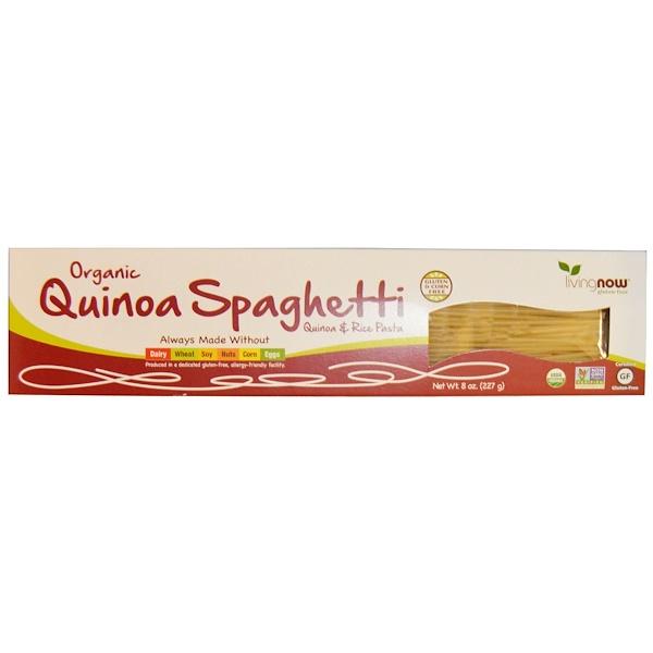 Real Food, спагетти из органической квиноа, 227 г (8 унций)