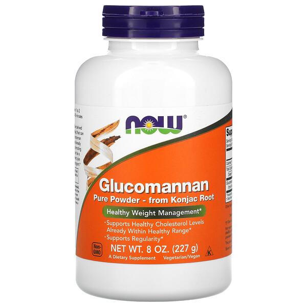 Глюкоманнан, чистый порошок, 227 г (8 унций)