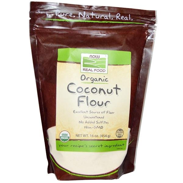 Органическая кокосовая мука, 454 г (16 унц)