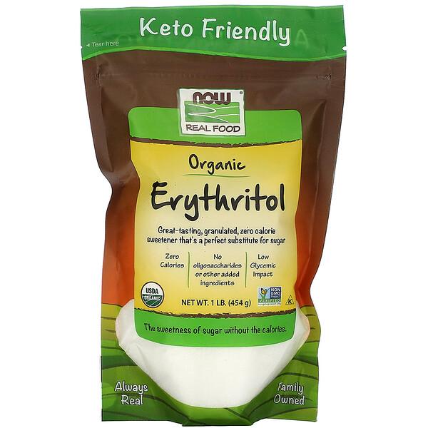 Real Food, органический эритритол, 454г (1 фунт)