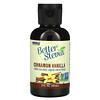 Now Foods, Better Stevia, жидкий подсластитель, корица и ваниль, 2 жидкие унции (60 мл)
