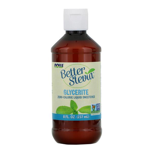Better Stevia, бескалорийный жидкий подсластитель, глицерит, 237мл (8жидк.унций)