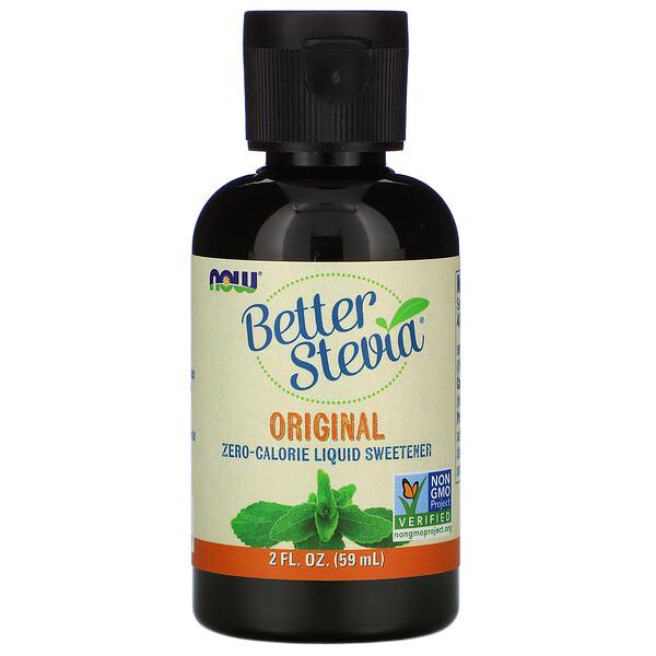 Better Stevia, бескалорийный жидкий подсластитель, оригинальный, 59 мл (2 жидких унции)