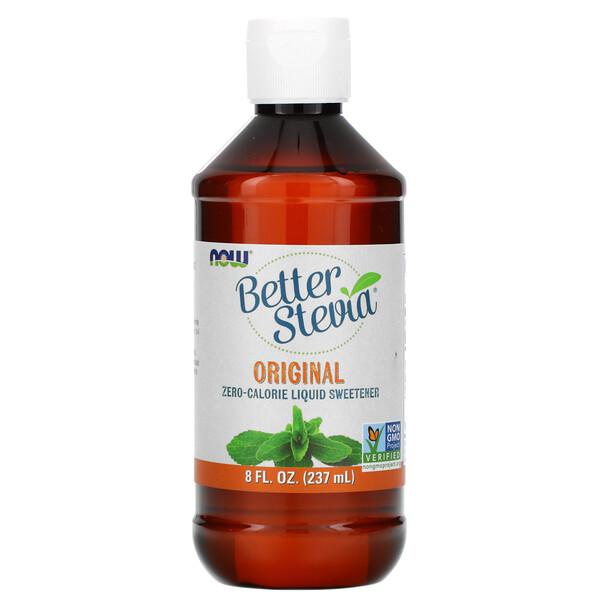 Better Stevia, жидкий бескалорийный подсластитель, оригинальный, 8 жидких унций (237 мл)