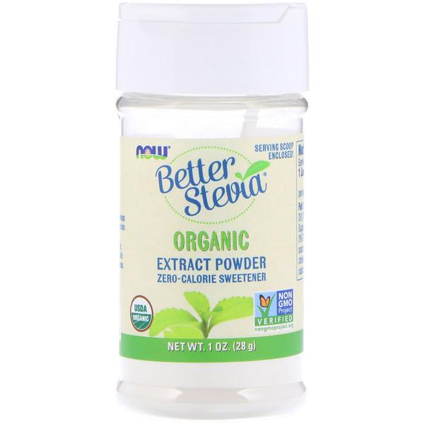 BetterStevia, Organic Extract Powder, 1 унция (28 г)