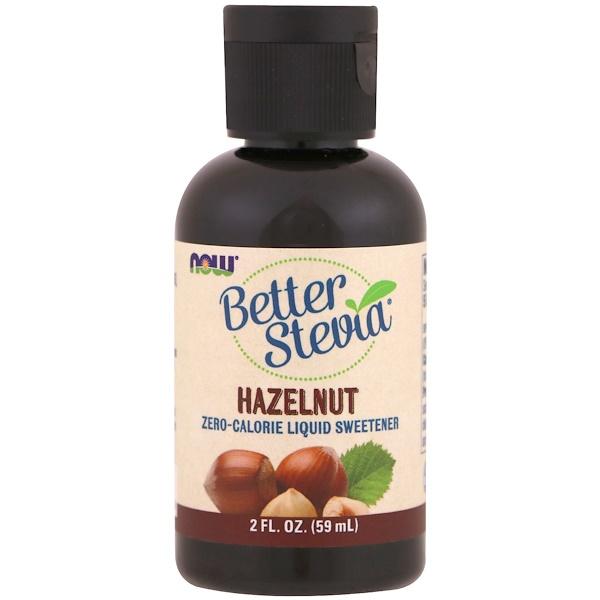 Better Stevia, лесной орех, 2 жидкие унции (59 мл)